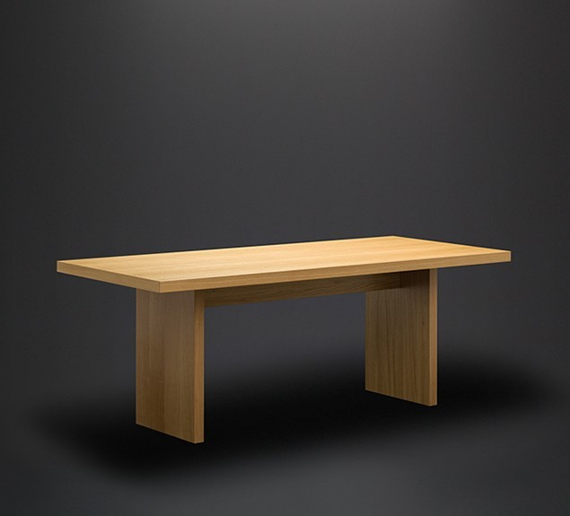 Holz-Eiche-Echtholz-furniert-schräge-Vorderansicht Plattengestell