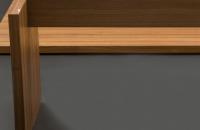 Tisch-mit-Plattengestell-Holz-Gestell-Detail