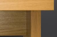 Tisch-mit-Plattengestell-Holz-Tischplatte-Details