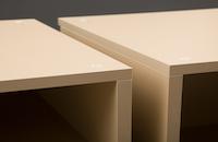 Sideboard-Interior-Oberflächen