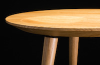 -oval-Tischplatte